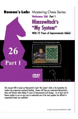 E-DVD ROMAN'S LAB - VOLUME 26 - Nimzowitsch: My System VOLUME 1
