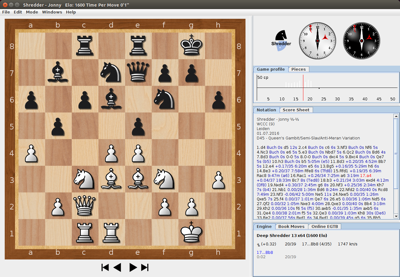 Download windows (uci) shredder 13 chess playing software.
