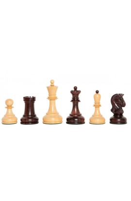 """The Exotique Collection® - The Dubrovnik Series Luxury Chess Pieces - 3.75"""" King - With Natural Boxwood"""
