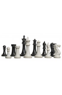 """The Big Knight Series Plastic Chess Pieces - 3.875"""" King"""