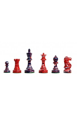 "The Americana Series Chess Pieces - 4.0"" King"