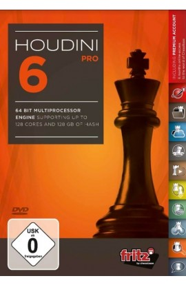 *DOWNLOAD* - Houdini 6 Chess Playing Software Program - PROFESSIONAL EDITION