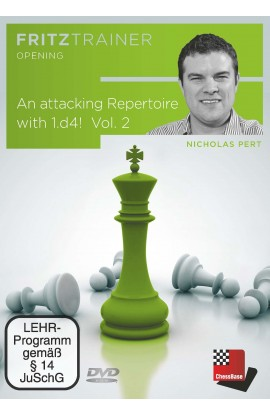 An Attacking Repertoire with 1.d4 –  Part 2 (1.d4 Nf6 2.c4) - Nicholas Pert