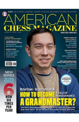 PRE-ORDER - AMERICAN CHESS MAGAZINE Issue no. 10