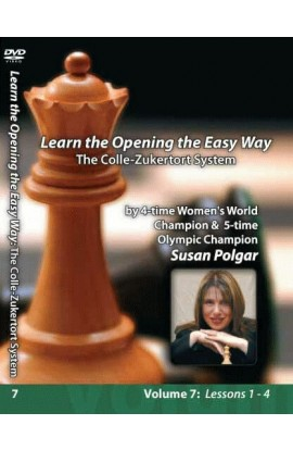 E-DVD WINNING CHESS THE EASY WAY - VOLUME 7 - The Colle-Zukertort System