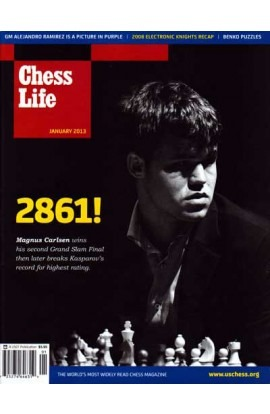 CLEARANCE - Chess Life Magazine - January 2013 Issue
