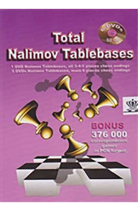 Total Nalimov Tablebases - 12 DVDs (6 DVDs per package)