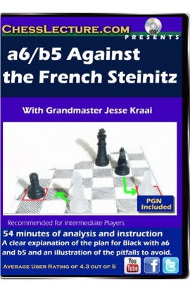 a6/b5 Against the French Steinitz - Chess Lecture - Volume 75