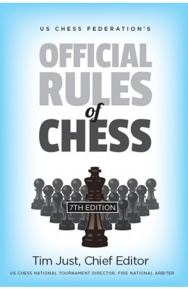 PRE-ORDER - US Chess Federation's Official Rules of Chess - SEVENTH EDITION