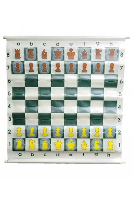 "36"" Pouch-Style Chess Demonstration Set with Deluxe Carrying Bag"