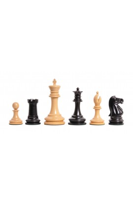 "The Lasker Series Luxury Chess Pieces - 4.0"" King"