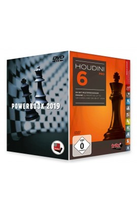 Houdini 6 Chess Playing Software - PROFESSIONAL EDITION with Powerbook 2019