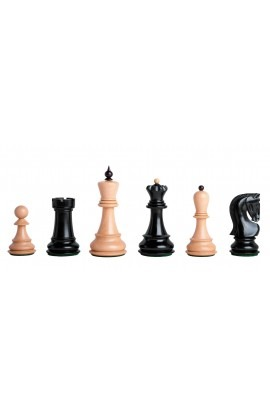 "The Zagreb '59 Series Gilded Chess Pieces - 3.875"" King"