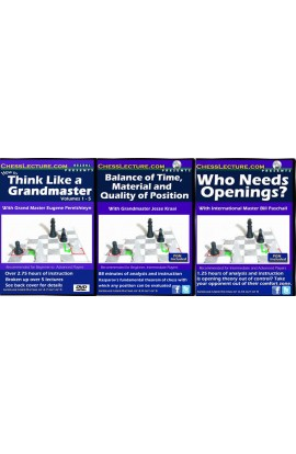 Chess Schools of Thought - 3 DVDs - Chess Lecture