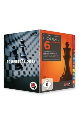 Houdini 6 Chess Playing Software - STANDARD EDITION with Powerbook 2018