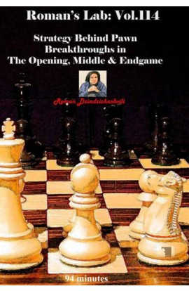 E-DVD ROMAN'S LAB - VOLUME 114 - Strategy Behind Pawn Breakthroughs in The Opening, Middle & Endgame