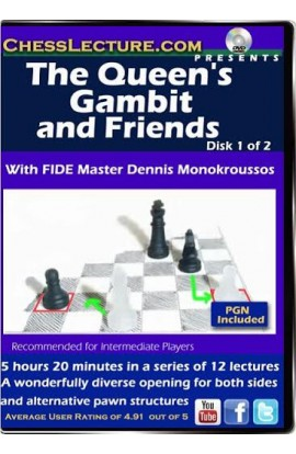 The Queen's Gambit and Friends - 2 DVDs - Chess Lecture - Volume 95