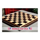 """Signature Contemporary IV Luxury Chess board - AFRICAN PALISANDER / CURLY MAPLE - 2.5"""" Squares"""