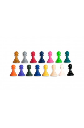 "Regulation Silicone Tournament Chess Pieces - 3.5"" King"