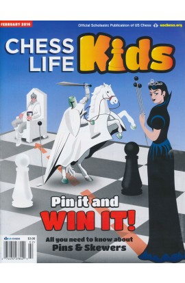 CLEARANCE - Chess Life For Kids Magazine - February 2016 Issue