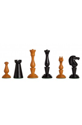 "The Strand Series Timeless Chess Pieces - 4.4"" King - Antiqued Boxwood"