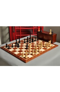 The Capablanca Chess Edition - Reykjavik II Series Chess Set and Board Combination