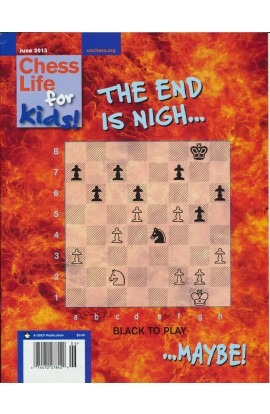 CLEARANCE - Chess Life For Kids Magazine - June 2013