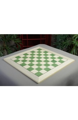 """IMPERFECT - Bird's Eye Maple and Greenwood Standard Traditional Chess Board - Satin Finish 2.375"""" Squares"""