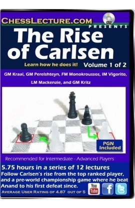 The Rise of Carlsen V1 Front