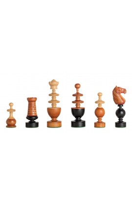 "The French Regence Series Luxury Chess Pieces - 4.4"" King"
