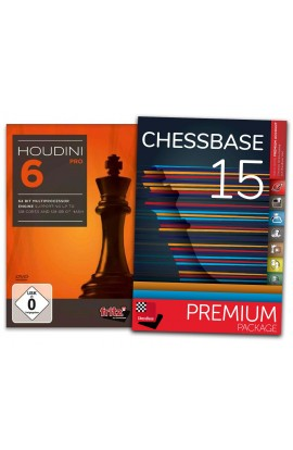Houdini 6 Pro and ChessBase 15 Premium - Bundle