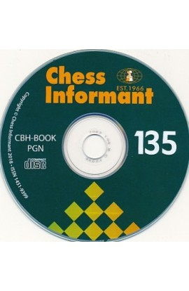 Chess Informant  - ISSUE 135 on CD