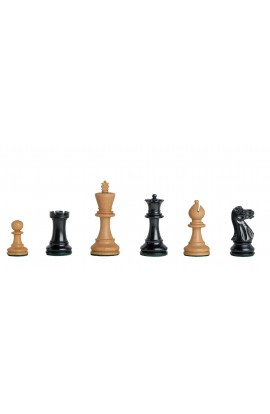 "The Grandmaster Series Gilded Chess Pieces - 3.25"" King"