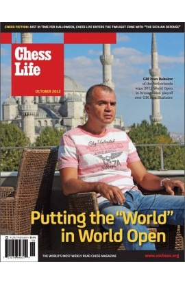 CLEARANCE - Chess Life Magazine - October 2012 Issue