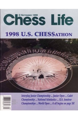 CLEARANCE - Chess Life Magazine - September 1998 Issue