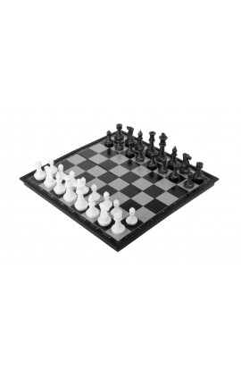 """12"""" Magnetic Travel Chess & Checkers Set"""