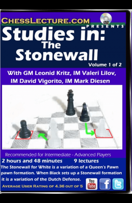 Studies in: The Stonewall - 2 DVDs - Chess Lecture - Volume 143
