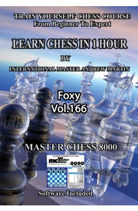 E-DVD FOXY OPENINGS - Volume 166 - Learn Chess in One Hour
