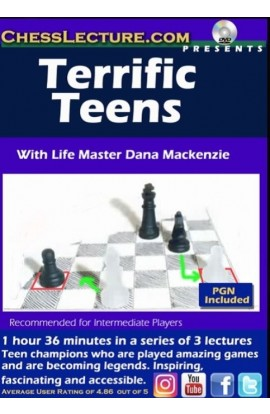 E-DVD Terrific Teens - Chess Lecture - Volume 175