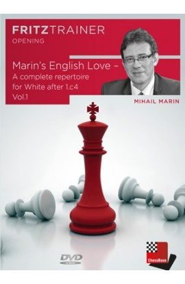 Marin's English Love - A complete repertoire for White after 1.c4 Vol.1 - Mihail Marin