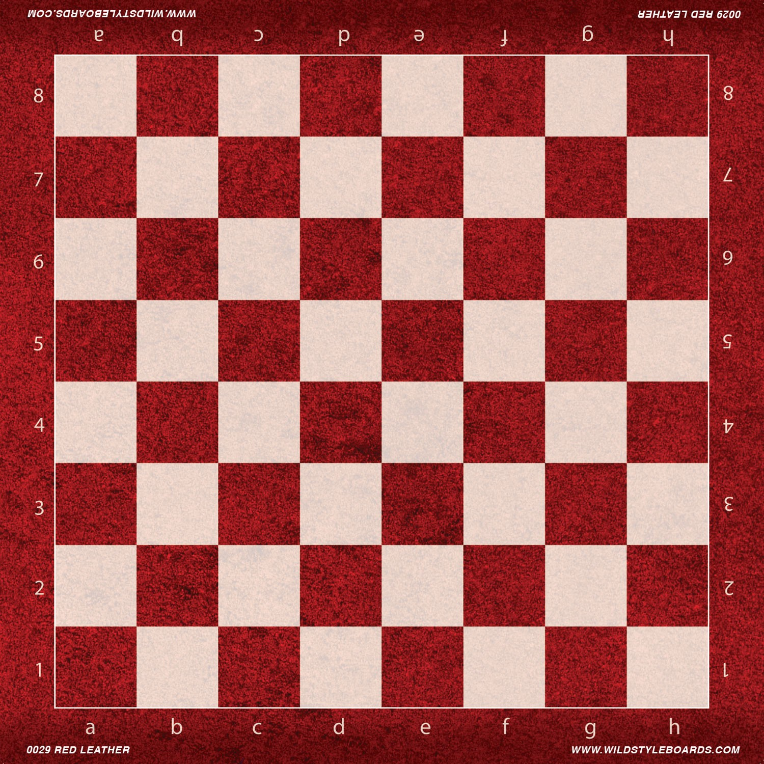 Description Red Leather Are You Bored With Traditional Chess Boards