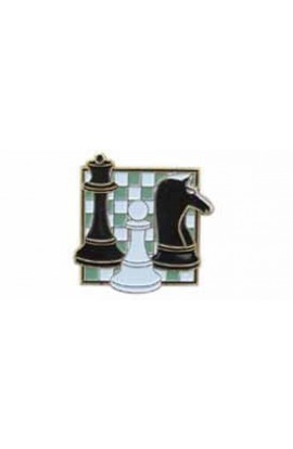 Square Chess Pin