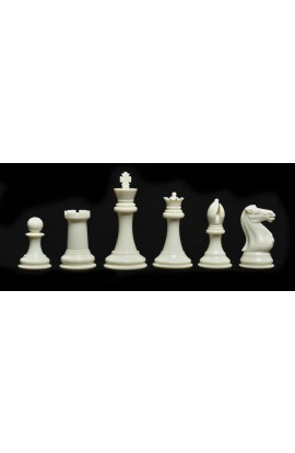 "The Fischer Series Plastic Chess Pieces - 4.0"" King"
