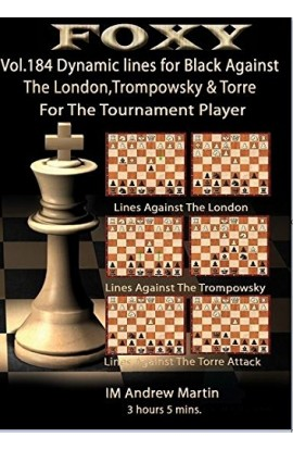 E-DVD FOXY OPENINGS - Volume 184 - Dynamic Lines for Black Against the London
