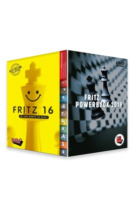 Fritz 16 Chess Playing Software Bundled with Powerbook 2019 Chess Software