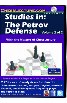 Studies in: The Petrov Defense V1 Front