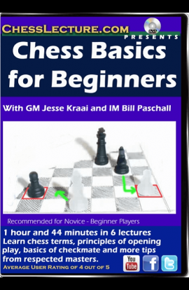 Chess Basics for Beginners - Chess Lecture - Volume 133