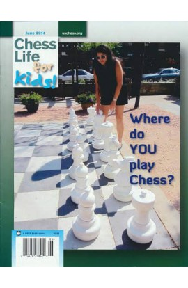 CLEARANCE - Chess Life For Kids Magazine - June 2014 Issue