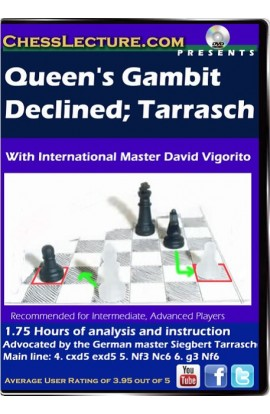 Queens's Gambit Declined - Tarrasch - Chess Lecture - Volume 80