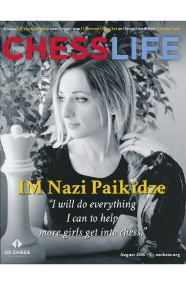 CLEARANCE - Chess Life Magazine - August 2016 Issue